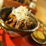 清豚亭 髷 - 豚丼ハーフ