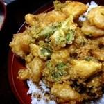 深川 - 料理写真:かき揚げ