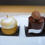 UN GRAIN - トゥ タン ショコラ、タルト アグリューム