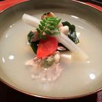 明日香 - (2016年3月)蛤とぐじの真薯!