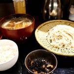 粋玄 - 鴨つけ蕎麦定食