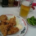 万両力石 - ビールセット(税別850円)