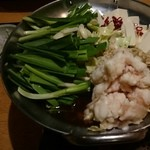 エビス - もつ鍋(醤油)