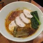担々麺 ほおずき - 鶏チャーシュー担々麺