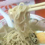 防府一ラーメン - 麺リフトアップ