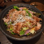 49344315 - 湘南釜揚げしらすと地野菜のサラダ