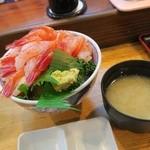 寿司のまつくら - 甘エビ丼
