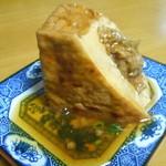 和食屋の惣菜 えん - 厚揚げの牛肉豆腐