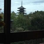 メインダイニングルーム 三笠 - 興福寺の五重塔