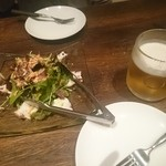 49345574 - 桜海老とタコのサラダ