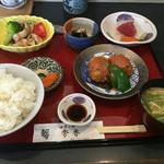 四季の膳 秀香 - 料理写真:日替わりランチ  これにコーヒーが付いて850円
