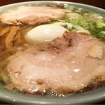田中屋 - 中華そば+味玉(塩味付)@税込980円
