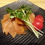 生姜料理 ぬくり - 生姜の味噌漬け