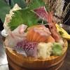 魚肴 青天上 - 料理写真:2016/4本日の刺身 桶盛(中)