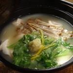ちゃ味道楽 - 鶏出汁湯豆腐です~