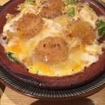 49351053 - ホタテと春キャベツの卵とじ
