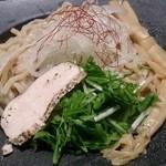三代目晴レル屋 - 桜島純鶏つけsoba(850円)