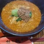 担々麺 錦城 - 担々麺(2016.4)