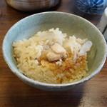 山はげ - 今日は鶏の炊き込みご飯