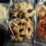 あおい - カリカリホワイトチョコ・5種のナッツ&メープル・大納言小豆