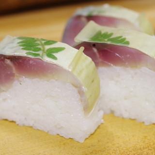 満寿形屋 - 料理写真:極上鯖寿司