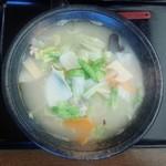 49360452 - 白菜ラーメン700円/平成28年4月