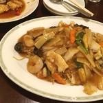 中国家常菜 しんた - 五目あんかけ焼きそば