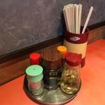珍満茶楼 - 料理写真:テーブルセッティング。