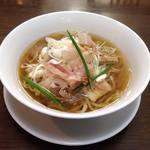 手打ち麺 やす田 - 料理写真:醤油をチョイスするもおすすめっ