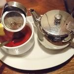 49363622 - セットのドリンク(ホットの紅茶)