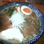 49367942 - 亀陣 鶏白湯醤油+味卵