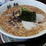 二十九代目 哲麺 - 煮干しラーメン500円