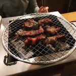 七輪焼肉 安安 - 安々カルビ