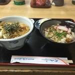 丸太屋総本店 - ミニ丼セット(天丼)