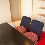 49370948 - 寛げる個室では布団も敷いてくださり赤ちゃん連れにも嬉しい空間