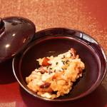 日本料理 竹内 - 赤飯