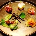 メゾン ルパン ミュラ - 前菜盛り合わせ