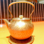 上野藪そば - 蕎麦湯