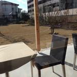 サングラムカフェ - テラス席