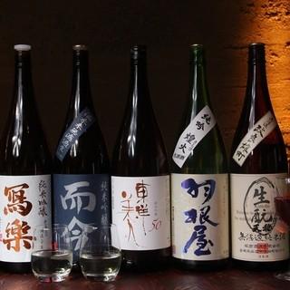 島根を中心とした全国の日本酒が揃う!!