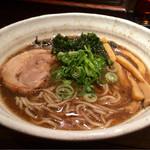 麺や 幸村 - 魚介醤油ラーメン 750円