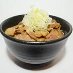 麺や勝治 - 豚チャーシュー丼