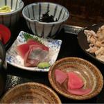 魚串 魚然 - 日替ランチ(850円)