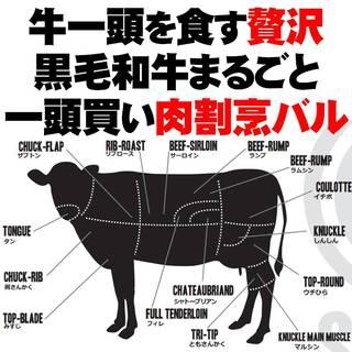 『黒毛和牛まるごと一頭買い』がお値打ちな肉割烹バルの答えです