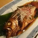 沼津港直送の海鮮と創作料理 ゆうが沼津 - メバル煮付け