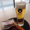 サッポロビール千葉工場 マリンハウス - ドリンク写真:黒ラベル&ビヤクラッカー