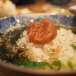 日本酒バル Chintara - お茶漬け