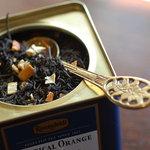 サロンド・カフェ・マンナ - 香り高いロンネフェルト紅茶をどうぞ。