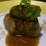 Halu - 仔牛のフィレ肉のロッシーニ トリュフのソース