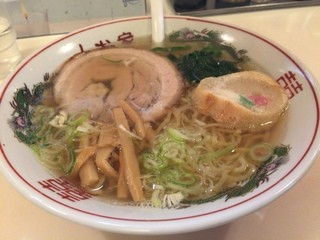 しお家 五稜郭店 - 塩ラーメン(690円)